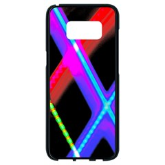 Xmas Light Paintings Samsung Galaxy S8 Black Seamless Case