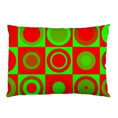 Redg Reen Christmas Background Pillow Case by Celenk