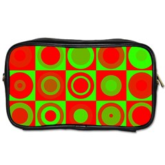 Redg Reen Christmas Background Toiletries Bags by Celenk