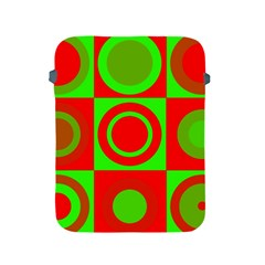 Redg Reen Christmas Background Apple Ipad 2/3/4 Protective Soft Cases by Celenk