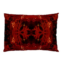 Red Abstract Pillow Case (two Sides)
