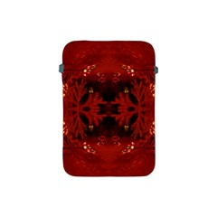 Red Abstract Apple Ipad Mini Protective Soft Cases by Celenk