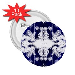 The Effect Of Light  Very Vivid Colours  Fragment Frame Pattern 2 25  Buttons (10 Pack)