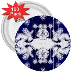The Effect Of Light  Very Vivid Colours  Fragment Frame Pattern 3  Buttons (100 Pack)
