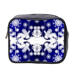 The Effect Of Light  Very Vivid Colours  Fragment Frame Pattern Mini Toiletries Bag 2 Side by Celenk