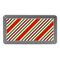 Christmas Color Stripes Memory Card Reader (mini) by Celenk