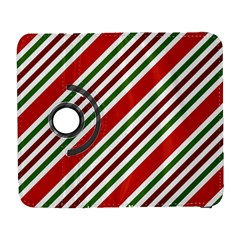 Christmas Color Stripes Galaxy S3 (flip/folio) by Celenk