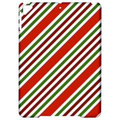 Christmas Color Stripes Apple Ipad Pro 9 7   Hardshell Case by Celenk