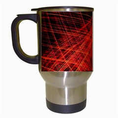 A Christmas Light Painting Travel Mugs (white) by Celenk