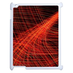 A Christmas Light Painting Apple Ipad 2 Case (white) by Celenk