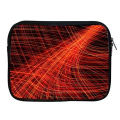 A Christmas Light Painting Apple Ipad 2/3/4 Zipper Cases by Celenk