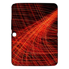 A Christmas Light Painting Samsung Galaxy Tab 3 (10 1 ) P5200 Hardshell Case  by Celenk