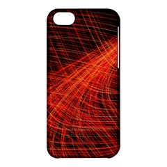 A Christmas Light Painting Apple Iphone 5c Hardshell Case by Celenk