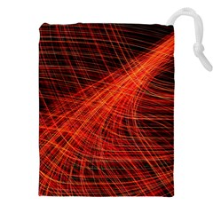 A Christmas Light Painting Drawstring Pouches (xxl) by Celenk