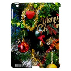 Decoration Christmas Celebration Gold Apple Ipad 3/4 Hardshell Case (compatible With Smart Cover) by Celenk