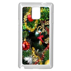 Decoration Christmas Celebration Gold Samsung Galaxy Note 4 Case (white)