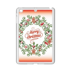 Merry Christmas Wreath Ipad Mini 2 Enamel Coated Cases by Celenk