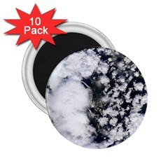 Earth Right Now 2 25  Magnets (10 Pack)  by Celenk