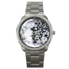 Earth Right Now Sport Metal Watch by Celenk