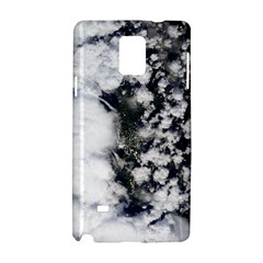 Earth Right Now Samsung Galaxy Note 4 Hardshell Case by Celenk