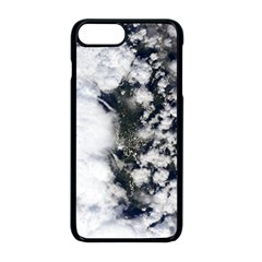 Earth Right Now Apple Iphone 8 Plus Seamless Case (black) by Celenk