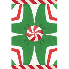 Candy Cane Kaleidoscope 5 5  X 8 5  Notebooks by Celenk