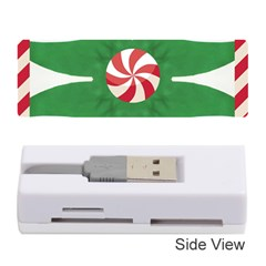 Candy Cane Kaleidoscope Memory Card Reader (stick)