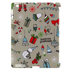 Beautiful Design Christmas Seamless Pattern Apple Ipad 3/4 Hardshell Case (compatible With Smart Cover) by Celenk