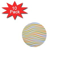 Art Abstract Colorful Colors 1  Mini Buttons (10 Pack)  by Celenk