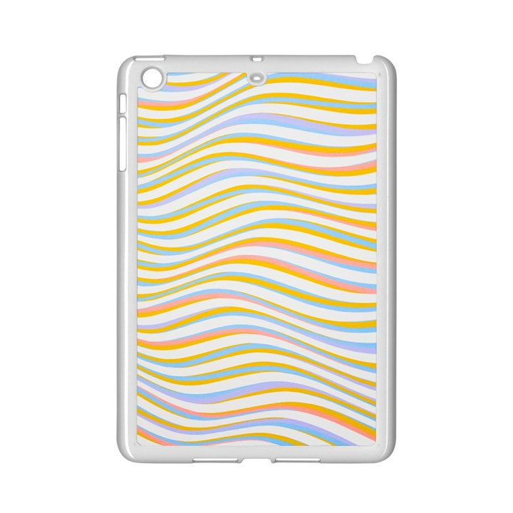 Art Abstract Colorful Colors iPad Mini 2 Enamel Coated Cases