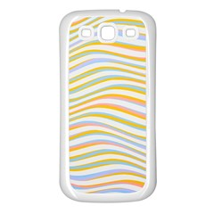 Art Abstract Colorful Colors Samsung Galaxy S3 Back Case (white) by Celenk