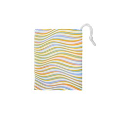 Art Abstract Colorful Colors Drawstring Pouches (xs)  by Celenk