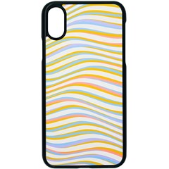 Art Abstract Colorful Colors Apple Iphone X Seamless Case (black) by Celenk