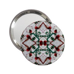 Christmas Paper 2 25  Handbag Mirrors by Celenk