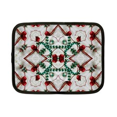 Christmas Paper Netbook Case (small)  by Celenk