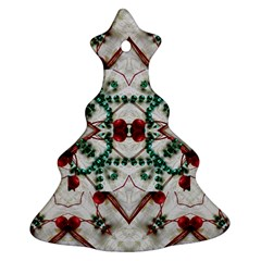 Christmas Paper Christmas Tree Ornament (two Sides) by Celenk