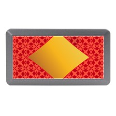 Christmas Card Pattern Background Memory Card Reader (mini) by Celenk