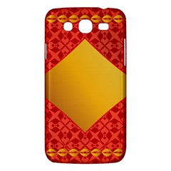 Christmas Card Pattern Background Samsung Galaxy Mega 5 8 I9152 Hardshell Case  by Celenk