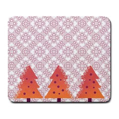 Christmas Card Elegant Large Mousepads by Celenk