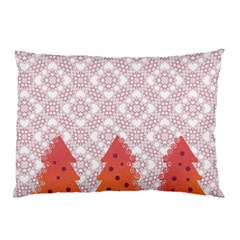 Christmas Card Elegant Pillow Case (two Sides)