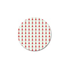 At On Christmas Present Background Golf Ball Marker