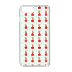 At On Christmas Present Background Apple Iphone 8 Plus Seamless Case (white) by Celenk