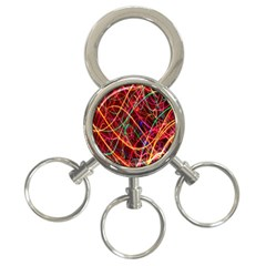 Wave Behaviors 3 Ring Key Chains by Celenk