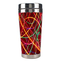 Wave Behaviors Stainless Steel Travel Tumblers by Celenk