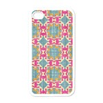 Christmas Wallpaper Apple iPhone 4 Case (White) Front