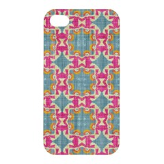 Christmas Wallpaper Apple Iphone 4/4s Premium Hardshell Case by Celenk