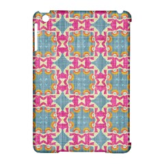 Christmas Wallpaper Apple Ipad Mini Hardshell Case (compatible With Smart Cover) by Celenk