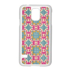 Christmas Wallpaper Samsung Galaxy S5 Case (white)