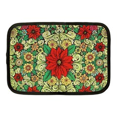Calsidyrose Groovy Christmas Netbook Case (medium)  by Celenk