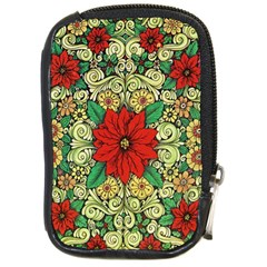 Calsidyrose Groovy Christmas Compact Camera Cases by Celenk